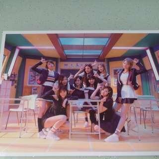 Twice signal專輯 官方明信片