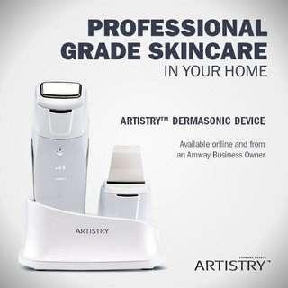 ARTISTRY Dermasonic Device
