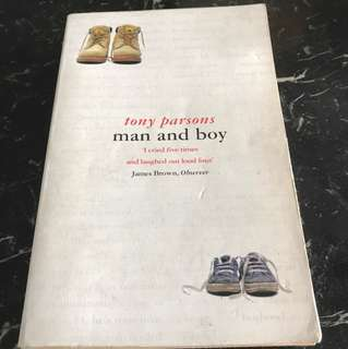 Man and Boy by Tony Parsons - Special Offer!