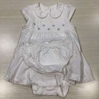 Mothercare Dress Set 3-6months