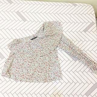 NEW Zara off shoulder Floral top