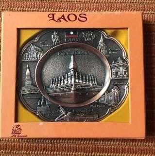 Laos Souvenir Plate