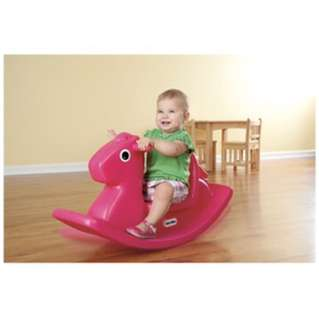 Little tikes rocking horse in pink