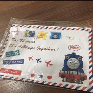 BN Thomas The Train Airmail Envelope Zipper Folder A4