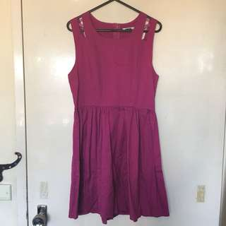 Mooloola pink party dress