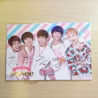 Shinee EH Postcard