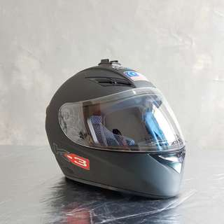 AGV K3 Full Face Helmet (Matte Black)