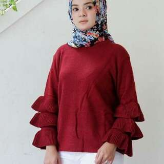 HANY BELL SWEATER
