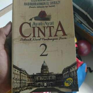 Malay Novel ayat ayat cinta 2