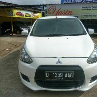 Mitsubishi Mirage GLS mt 2012 putih