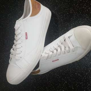 Levi's White Leather Sneakers Original
