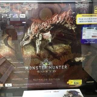 Kredit Cepat PS4 Pro Monster Hunter Limited Edition Tanpa CC