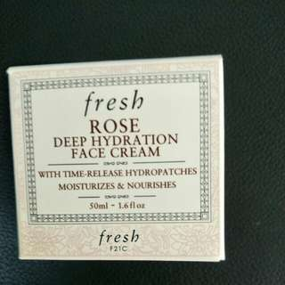 Fresh rose face cream 50ml
