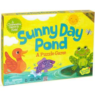 PEACEABLE KINGDOM COOPERATIVE BOARD GAMES – SUNNY DAY PONND