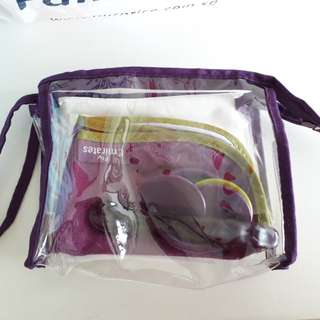 Emirates travel pouch for babies