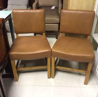 全新實木餐椅