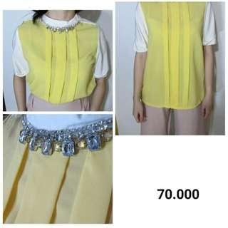 yellow white with diamond