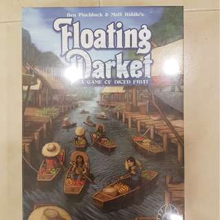 Floating Market Brand New Board Game