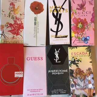 Pocket / Traveller perfumes