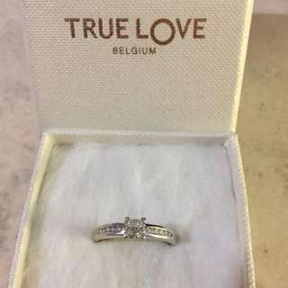 true love belguim ring