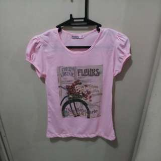 Light Pink Tshirt for 5 y/old - FREE SHIPPING
