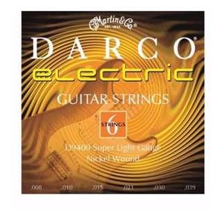 **SALE** Darco Electric Guitar String D9400 Super Light Gauge Nickel Wound