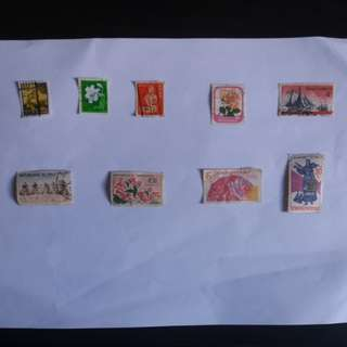 Mix oversea stamps ( rm 0.30 / pcs)
