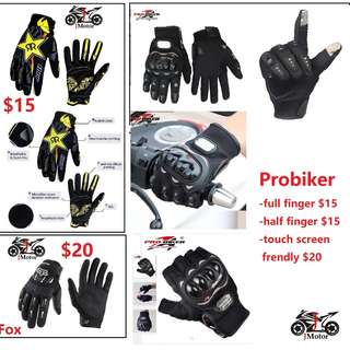Motorcycle riding glove  carbon hard knuckle protection ebike scooter