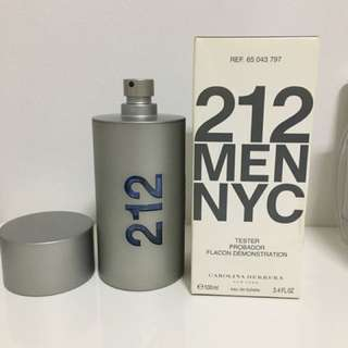 212 MEN NYC 100ml Tester