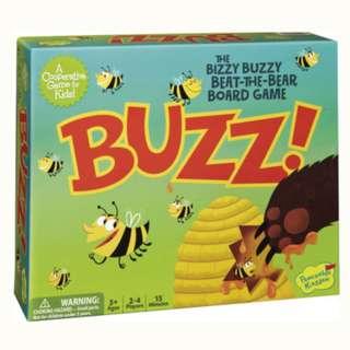 PEACEABLE KINGDOM COOPERATIVE BOARD GAME BUZZ