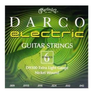 **SALE** Darco Electric Guitar String D9300 Extra Light Gauge Nickel Wound
