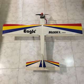 Eagle Model Nitro Cessna (like) RC plane