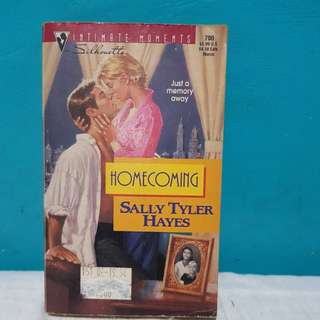 HOMECOMING by SALLY TYLER HAYES