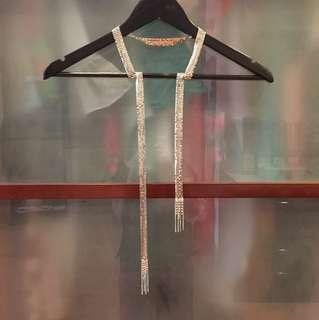 Metallic belt #neckbelt #belt