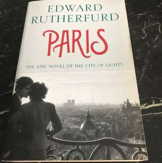 PARIS : The Epic Novel Of The City Of Lights (832 Pags) By Edward Rutherfurd - Special Offer!