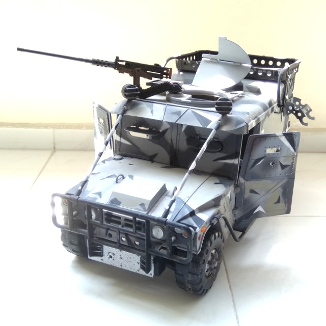 1 6 Scale Armored Humvee Hummer Vehicle With Gun 21st Century Toys