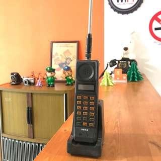 🚚 「早期黑金剛行動電話」 早期 古董 復古 懷舊 稀少 有緣 大同寶寶 黑松 沙士 鐵件 40年 50年