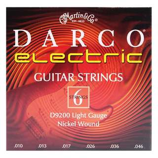 **SALE** Darco Electric Guitar String D9200 Light Gauge Nickel Wound