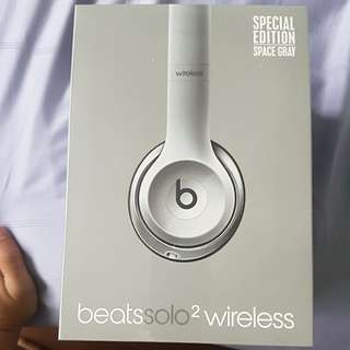 Beats solo2 wireless(Special Edition Space Grey)