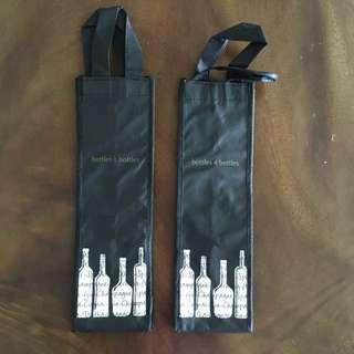 [BN] Bottles & Bottles Wine Carrier / The Straits Wine Company Wine Bag