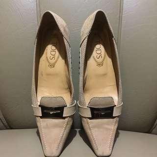 Tod's Heels Size 7.5 (Guaranteed 100% Original)