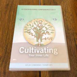 MP3 Plenary Sermons - Cultivating Your Inner Life by Rev Edmund Chan