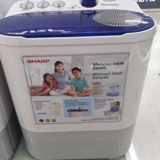Mesin Cuci Sharp 1Tabung 7 KG Cicilan Tanpa Kartu Credit