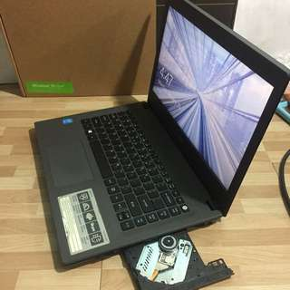 LAPTOP MURAH FULLSET ACER ASPIRE E5-473 core i3-4005U 14inch NORMAL