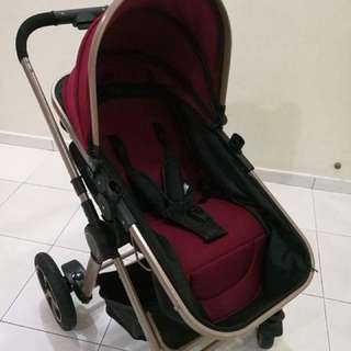 Two-ways baby stroller