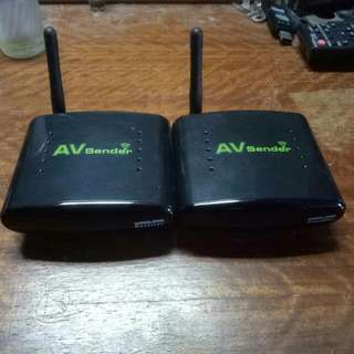 Wireless av sender PAT-240