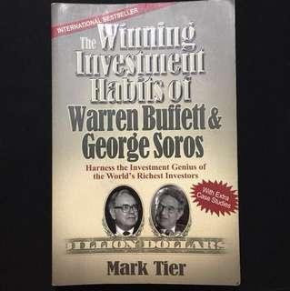 UPDATED PRICE - The Winning Investment Habits of Warren Buffett & George Soros