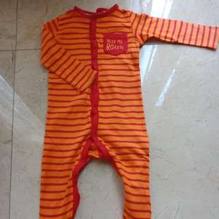 Mothercare Sleepsuit 9-12months