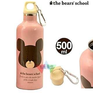 【日本正版】小熊學校 the bear's school 水壺 保溫瓶 保溫杯