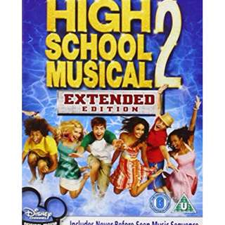 High School Musical 2 - Extended Edition DVD Other Chinese English Japanese Action Horror Thrill